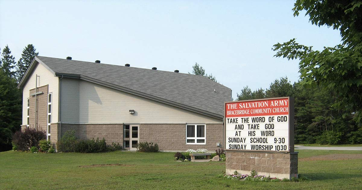 Bracebridge Salvation Army Church Building